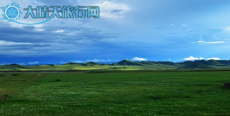 玛曲县位于甘南藏族自治州西南部,地处青,甘,川三省交界,玛曲县风光(2