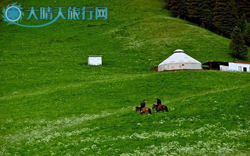 网|新疆旅游|深度游自由行|乌鲁木齐一南山风景区