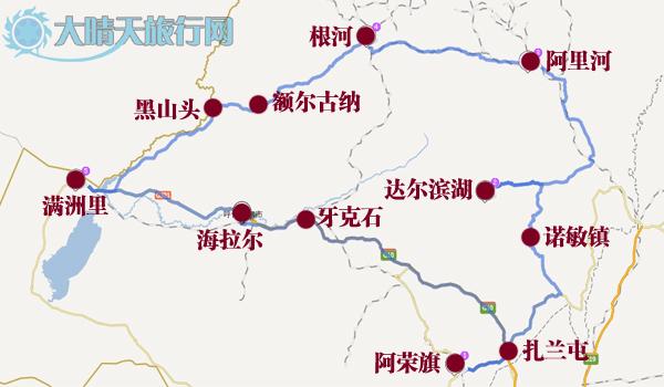 【线路地图】