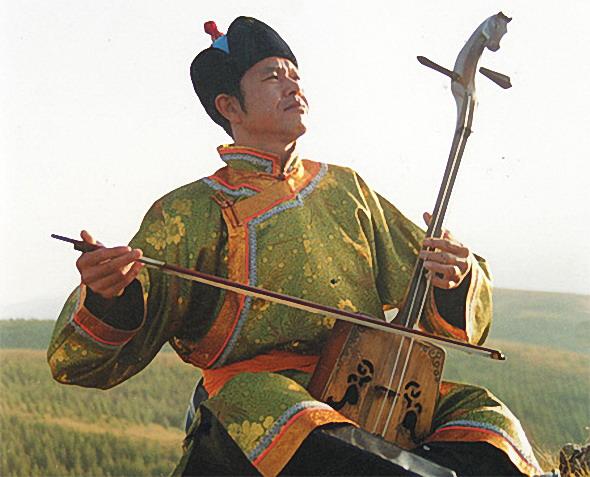 蒙古人的马头琴