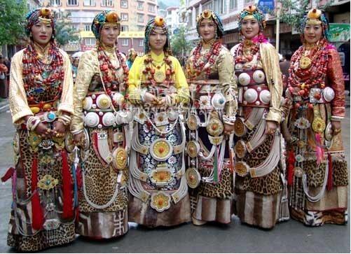 康巴藏族服饰 组图